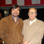 Con Ennio Morricone