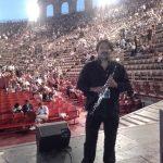 Arena di Verona, pre-concerto con Ennio Morricone
