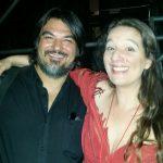 Con Dulce Pontes. post-concerto