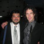 Con Francesco Lanzillotta, post-concerto