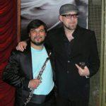 Con Mario Biondi