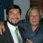 Con Ritz Ortolani. post-concerto
