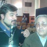 Con Stelvio Cipriani