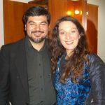 Con Dulce Pontes. post-concerto in diretta televisiva Canale 5