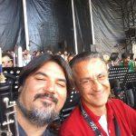 Con Giovanni Cretoni, amico e compagno di tante avventure