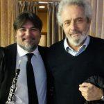 Con Nicola Piovani